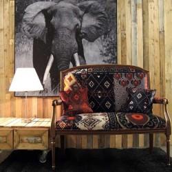tissu ameublement fantaisie ethnique chic. Black Bedroom Furniture Sets. Home Design Ideas
