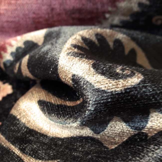 Tissu ameublement ethnique chic style desigual - Tissus d ameublement haut de gamme ...