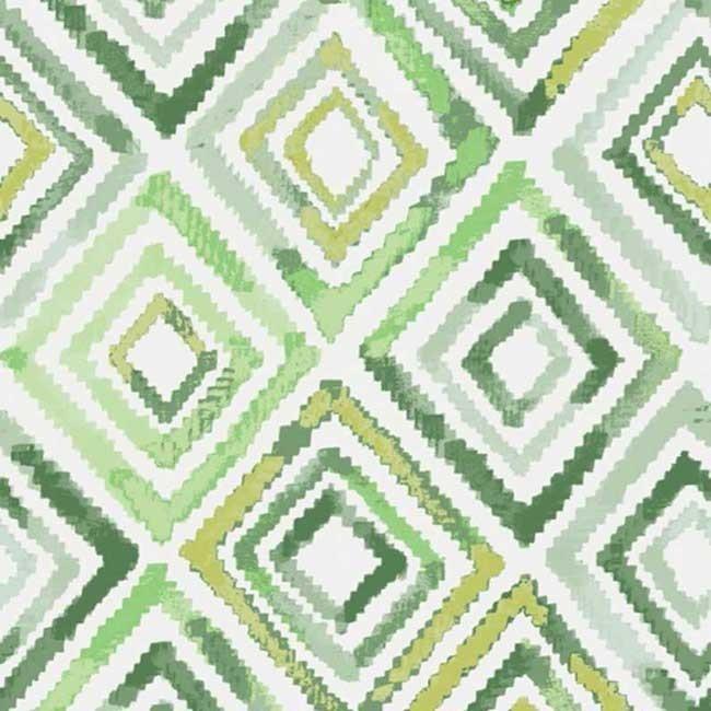 tissu ameublement ext rieur losange vert. Black Bedroom Furniture Sets. Home Design Ideas