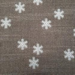 tissu flocon de neige contemporain haut de gamme. Black Bedroom Furniture Sets. Home Design Ideas