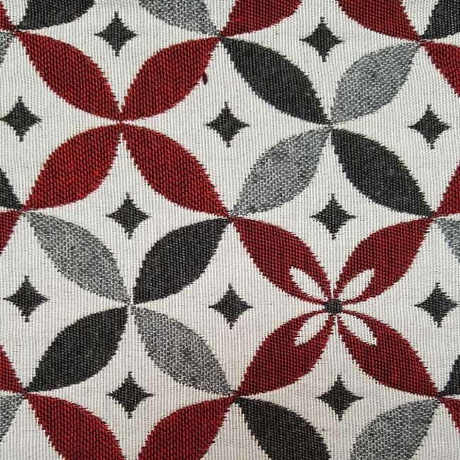 Tissu ameublement g om trique grande largeur - Marque de tissu d ameublement ...