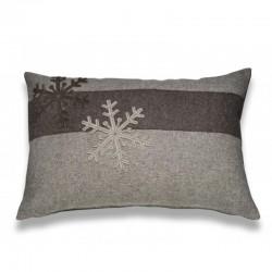 coussin laine organique haut de gamme style hygge