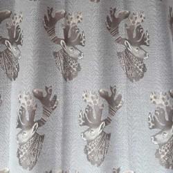 Tissu d'ameublement confectionné par Indigo Diffusion
