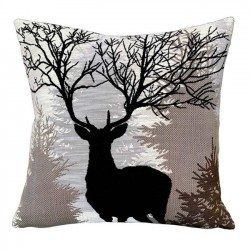 coussin Jules Pansu cerf