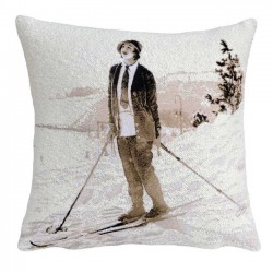 ski cushion Jules Pansu French