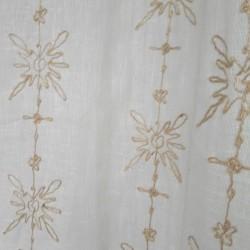 Tissu voilage lin haut de gamme