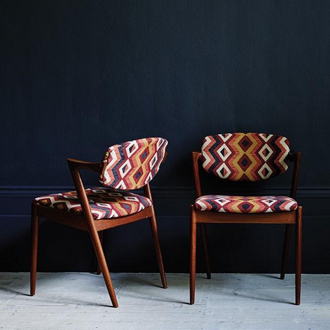 Tissu Ameublement Decoration Vintage Design Haut De Gamme Pour Fauteuil