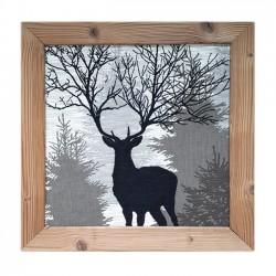 slab deer frame