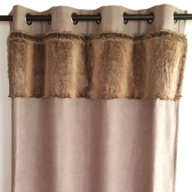fur curtain