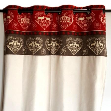 mountain curtain