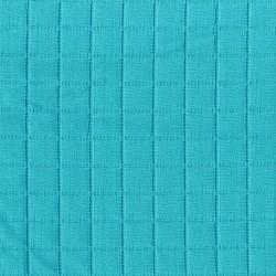 Tissu ameublement bouti grande largeur bleu azur